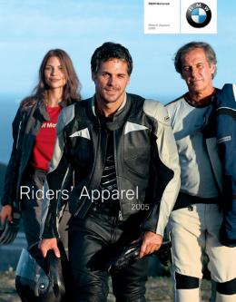 Catalogue: BMW Motorrad BMW Riders Apparel Catalog