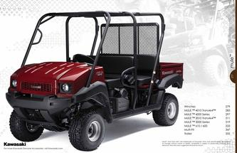 2010 Accessories - MULE™ Side x Side Vehicles
