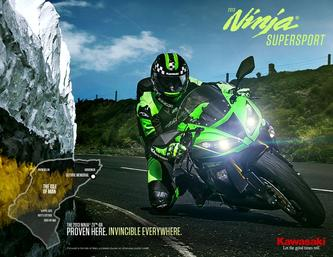 2013 Kawasaki Ninja Supersport Motorbikes