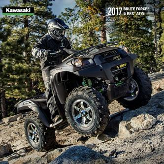 2017 Brute Force® & KFX® ATVs