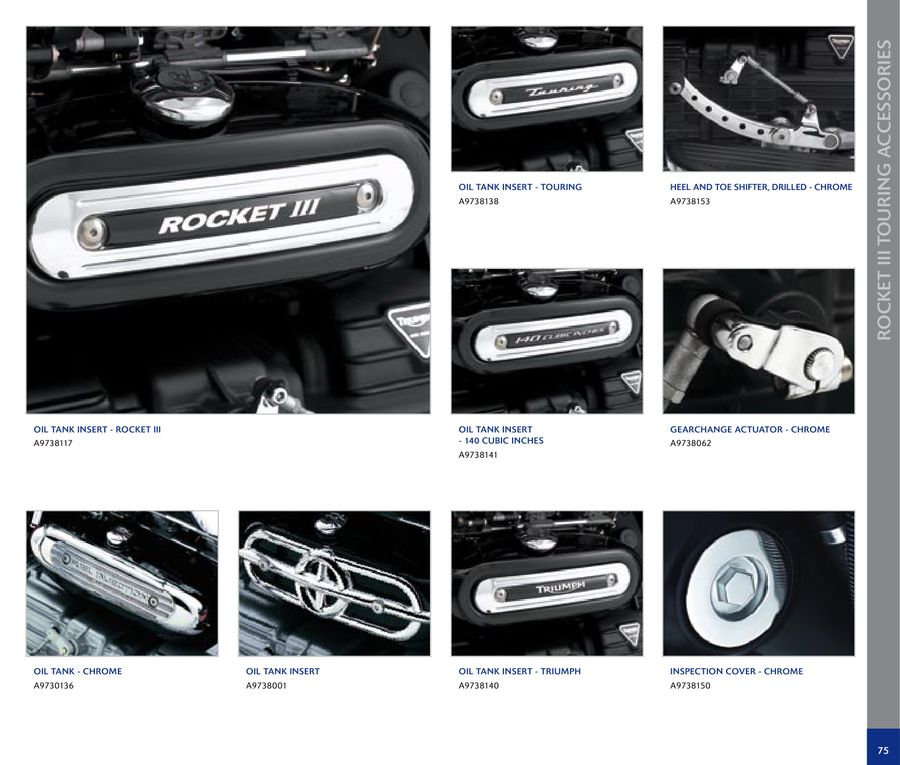 Page 79 Of Cruisers Motorcycles Accessories 2009