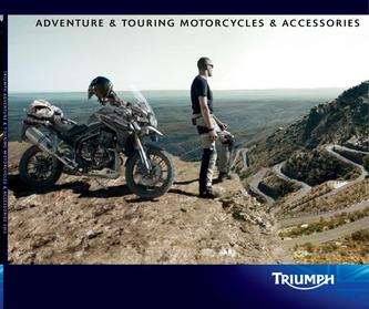 Triumph Adventure & Touring Motorcycles 2011