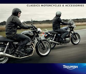 Classic Triumph motorcycles 2011