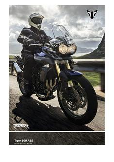 Tiger 800 ABS 2015 (UK)