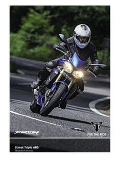 Street Triple ABS 2015 (UK)