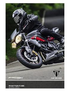 Street Triple R ABS 2015 (UK)