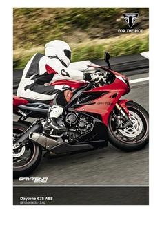 Daytona 675 ABS 2015 (UK)