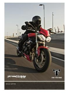 Street Triple Range Accessories 2016