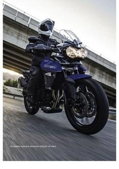 Tiger 800 Range Accessories 2016