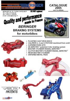 Beringer Breaking Systems for Motorbikes