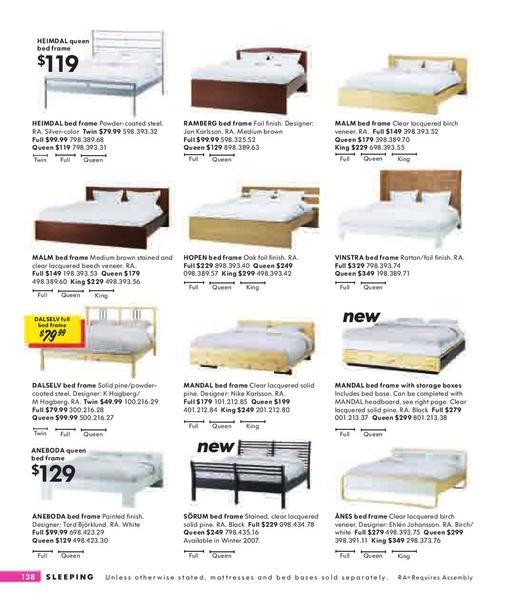 page 138 of ikea catalog 2008. Black Bedroom Furniture Sets. Home Design Ideas