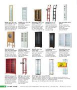 bertby glass door wall cabinet - SupaPrice.co.uk