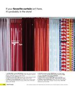 bright red curtains in ikea catalog 2008 by ikea. Black Bedroom Furniture Sets. Home Design Ideas