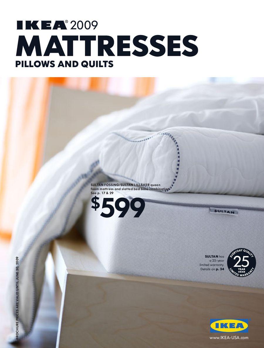Ikea 2009 mattresses 2009ikea