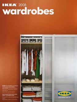 wardrobes 2008 by ikea. Black Bedroom Furniture Sets. Home Design Ideas