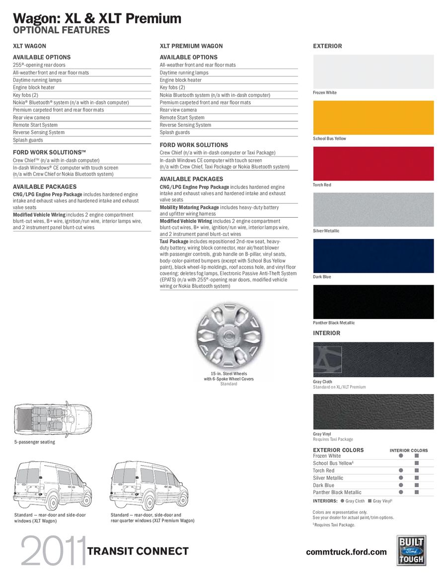 Page 11 Of 2011 Ford Transit Connect Instrument Cluster Wiring Color P 13
