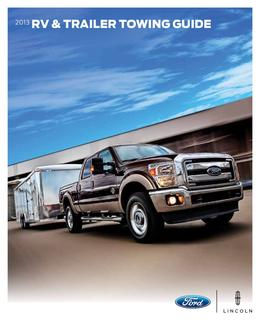2013 Trailer Towing Guide