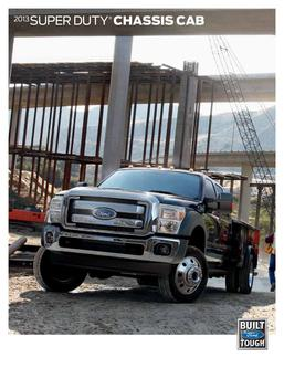 2013 Super Duty ChassisCab