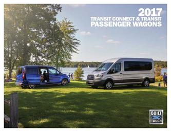 2017 Ford Transit/Transit Connect