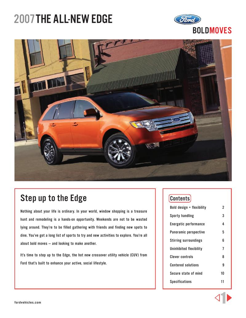 Ford Edge 07 by Ford Motor Company USA