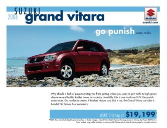Suzuki Grand Vitara 2006 Brochure