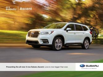 2019-1 Subaru Ascent