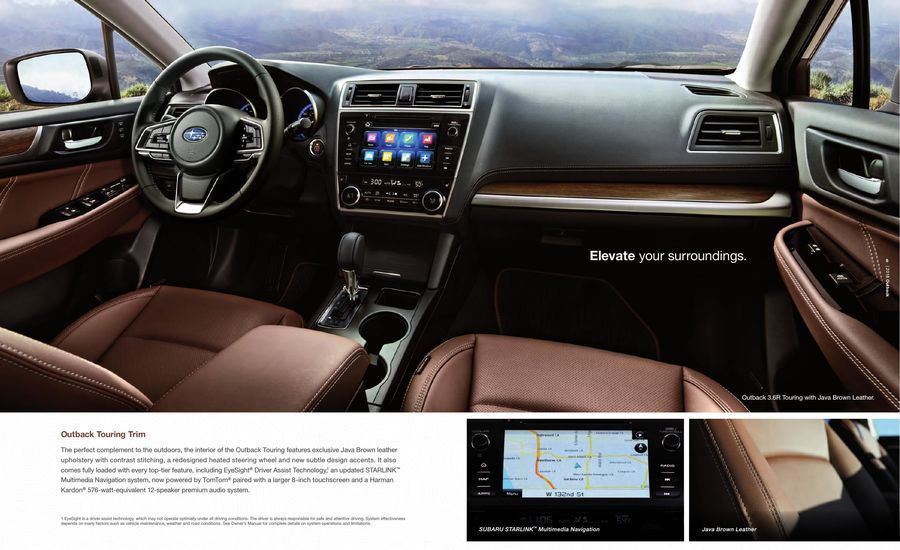 Subaru Starlink Multimedia Navigation Powered - Bikeriverside