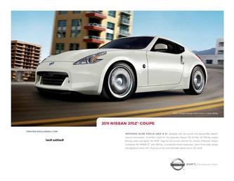 Nissan Z Coupe 2011