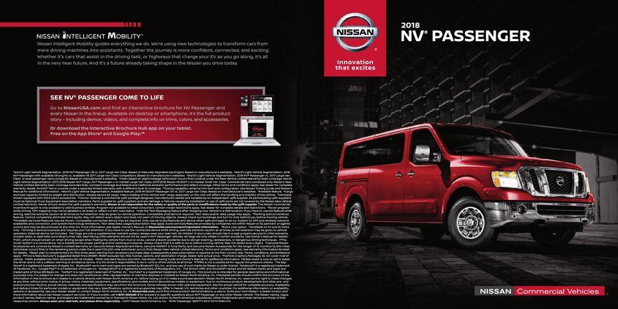 2018 Nissan NV Passenger by Nissan USA