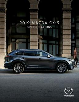 2019 Mazda CX-9 Specifications