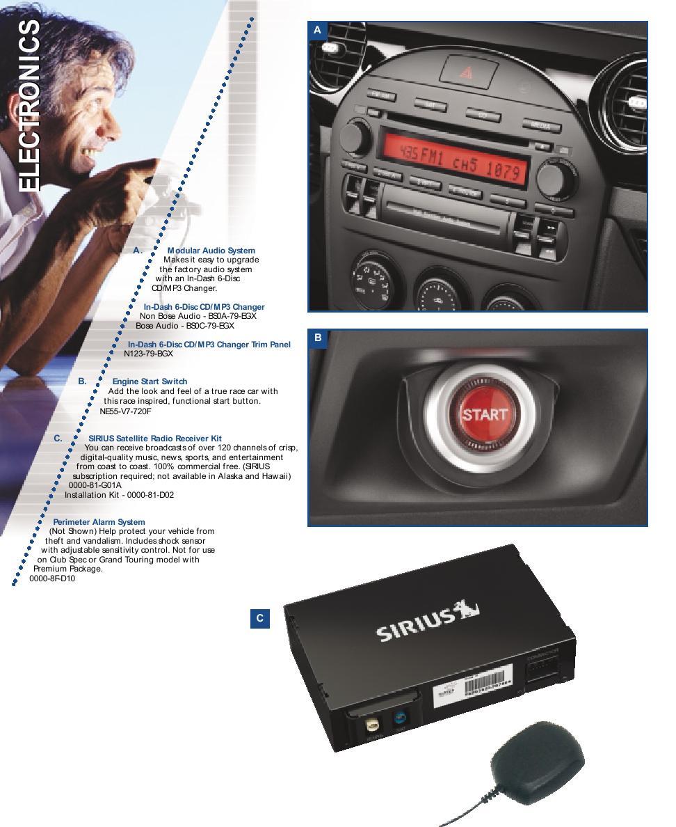 2006 Mazda MX-5 Miata Accessories by Mazda USA