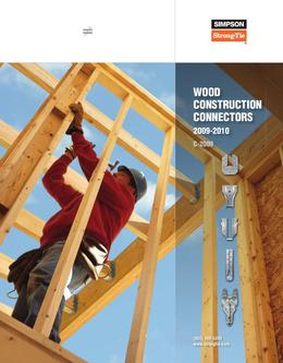 Wood Construction Connectors 2009-2010