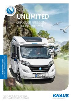 KNAUS Motorhomes (Low-Profile) 2018/2019