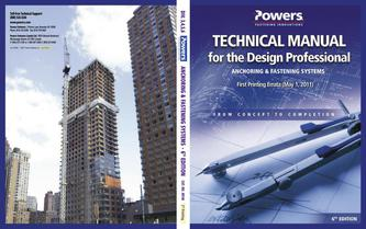 Technical Manual for the Design Professional Errata 07/12