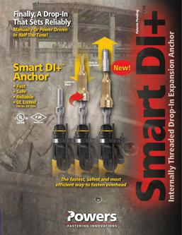 SmartDI+™ Dropin Internally Threaded Expansion Anchor 04/13