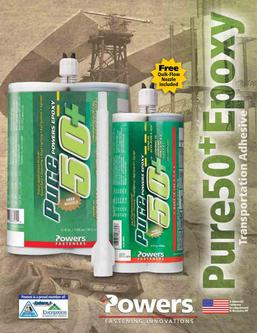 Pure50+™ Epoxy Transportation Adhesive 03/12
