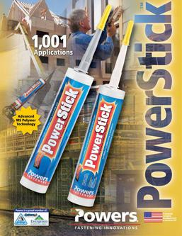 Power Stick™ The Ultimate Adhesive and Sealant 03/12