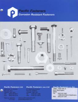 Corrosion Resistant Fasteners