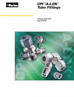 CPI / A-Lok Tube Fittings 2004 Catalog