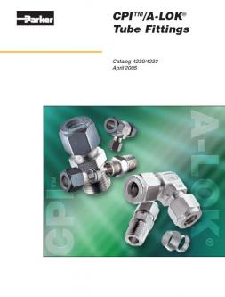 CPI/A-LOK Tube Fittings 2005 Catalog